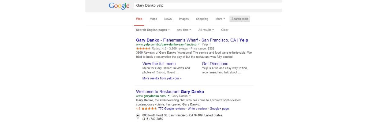 новый алгоритм локального поиска Гугл